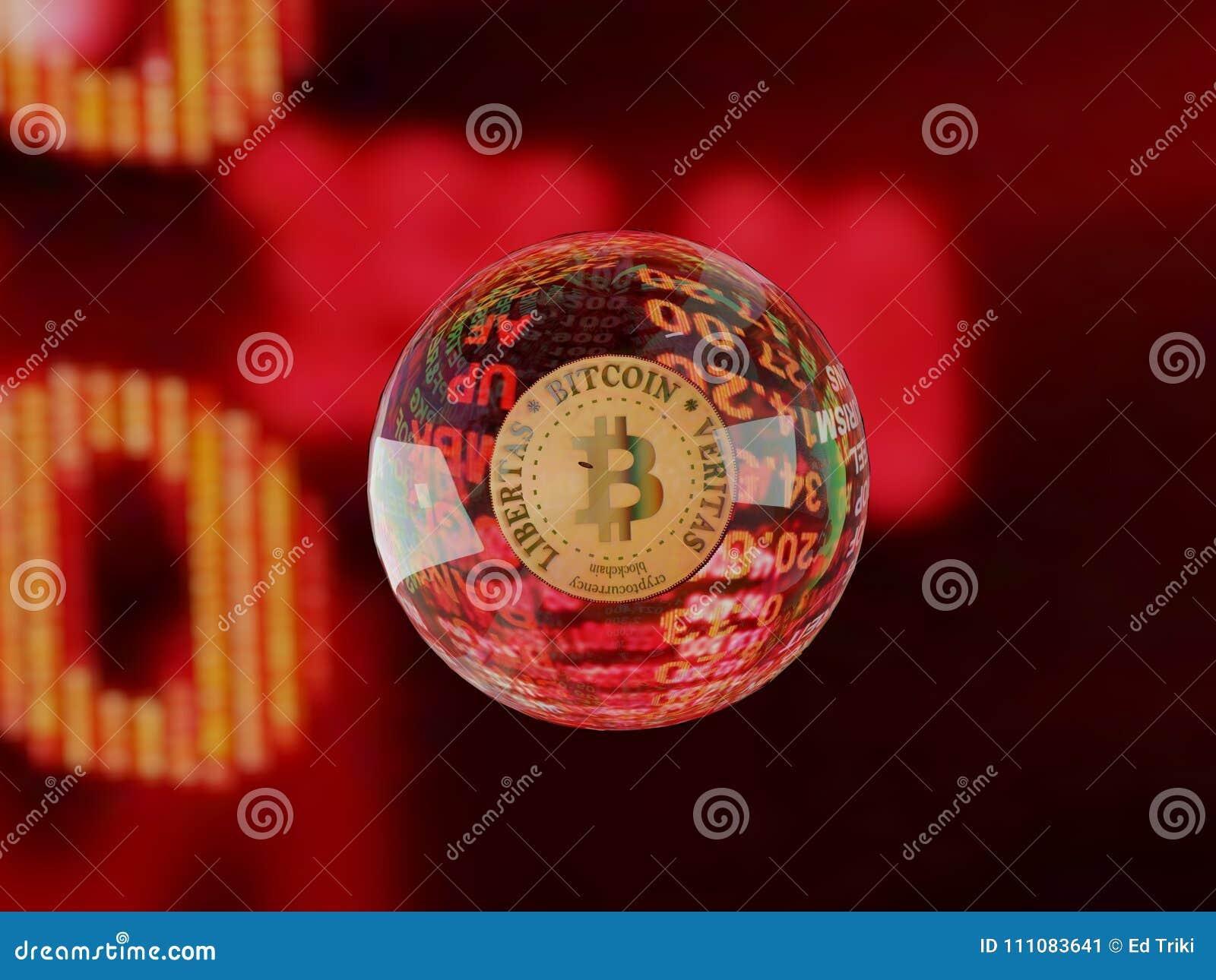 Bulle Cryptocurrency de Bitcoin