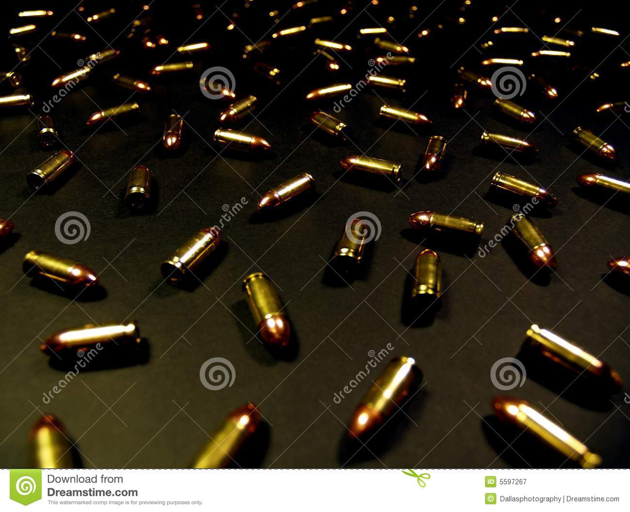 bullet background stock image  image of amendment  brass