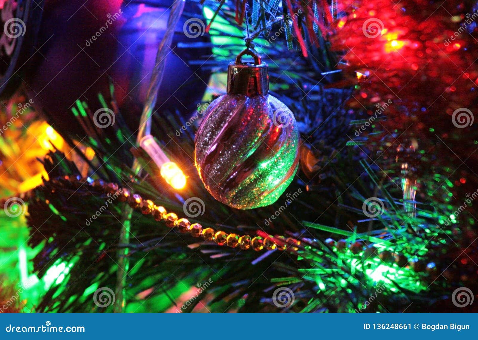 Bullet, Christmas decoration and beautiful illumination