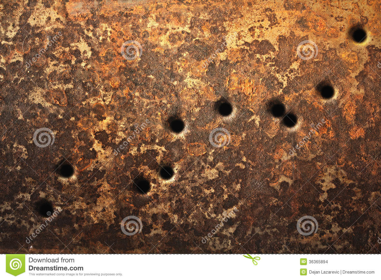 Bullet Holes Background Stock Photo Image Of Concept 36365894
