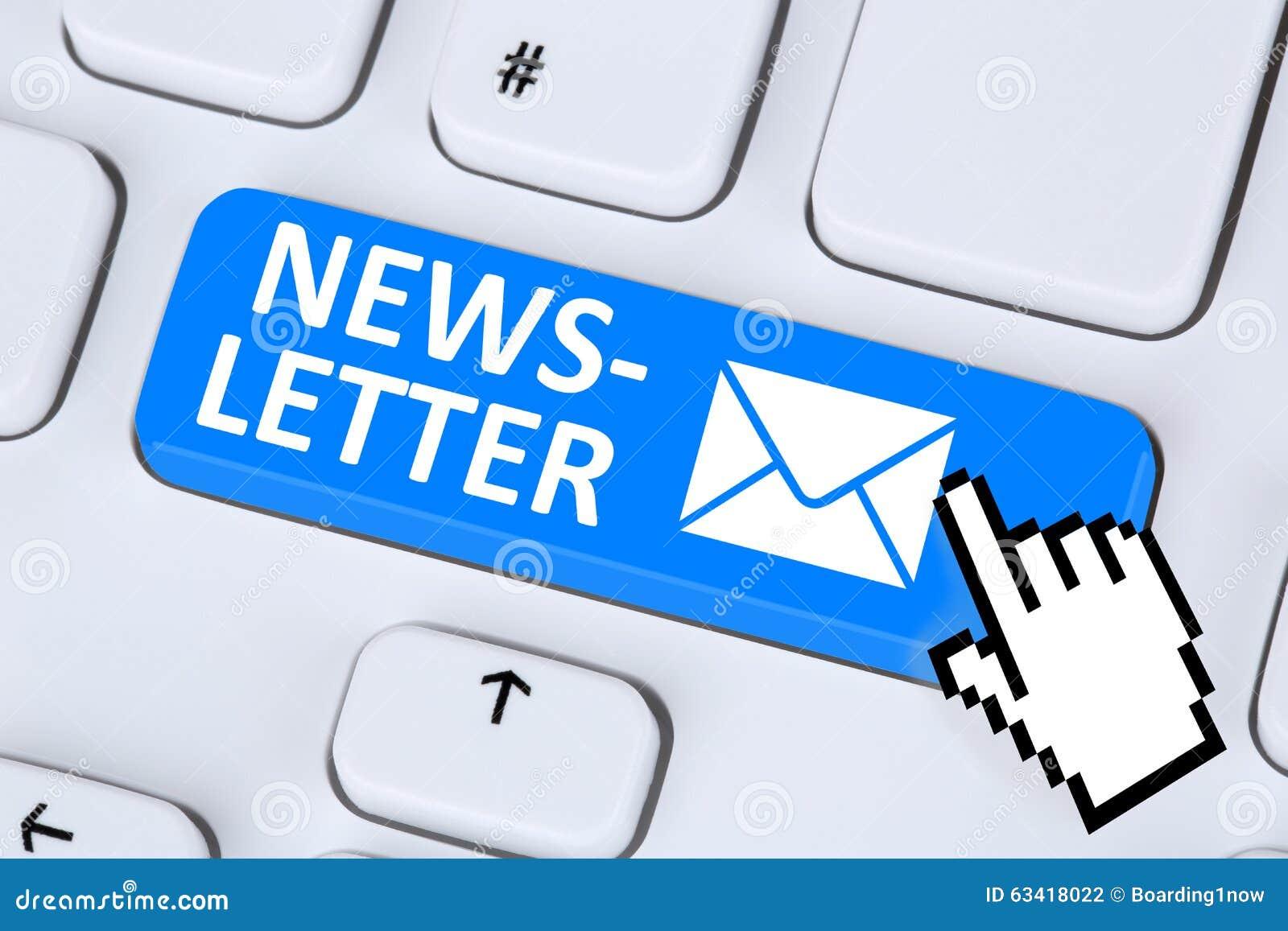 bulletin d u0026 39 information envoyant le courrier d u0026 39 email d