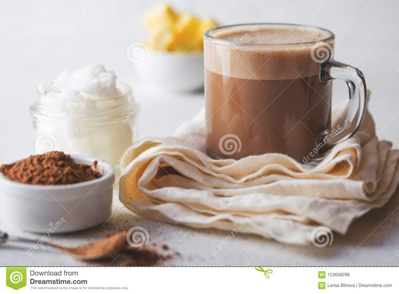 BULLETPROOF CACAO  Ketogenic Keto Diet Hot Drink  Cacao Blended With