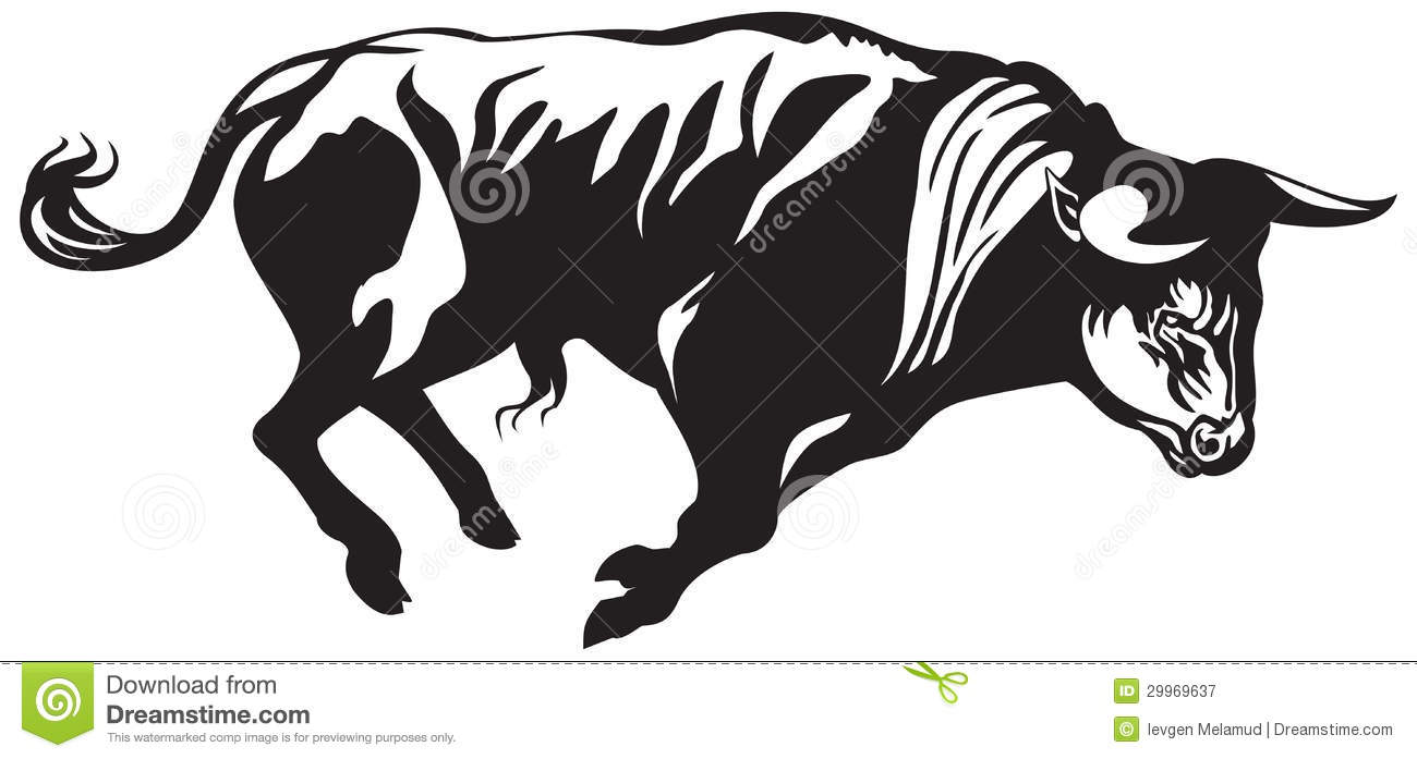 Bullfighting Bull Royalty Free Stock Photography