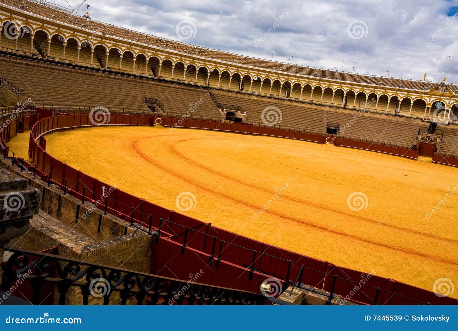 Bullring Plaza de Toros in Sevilla