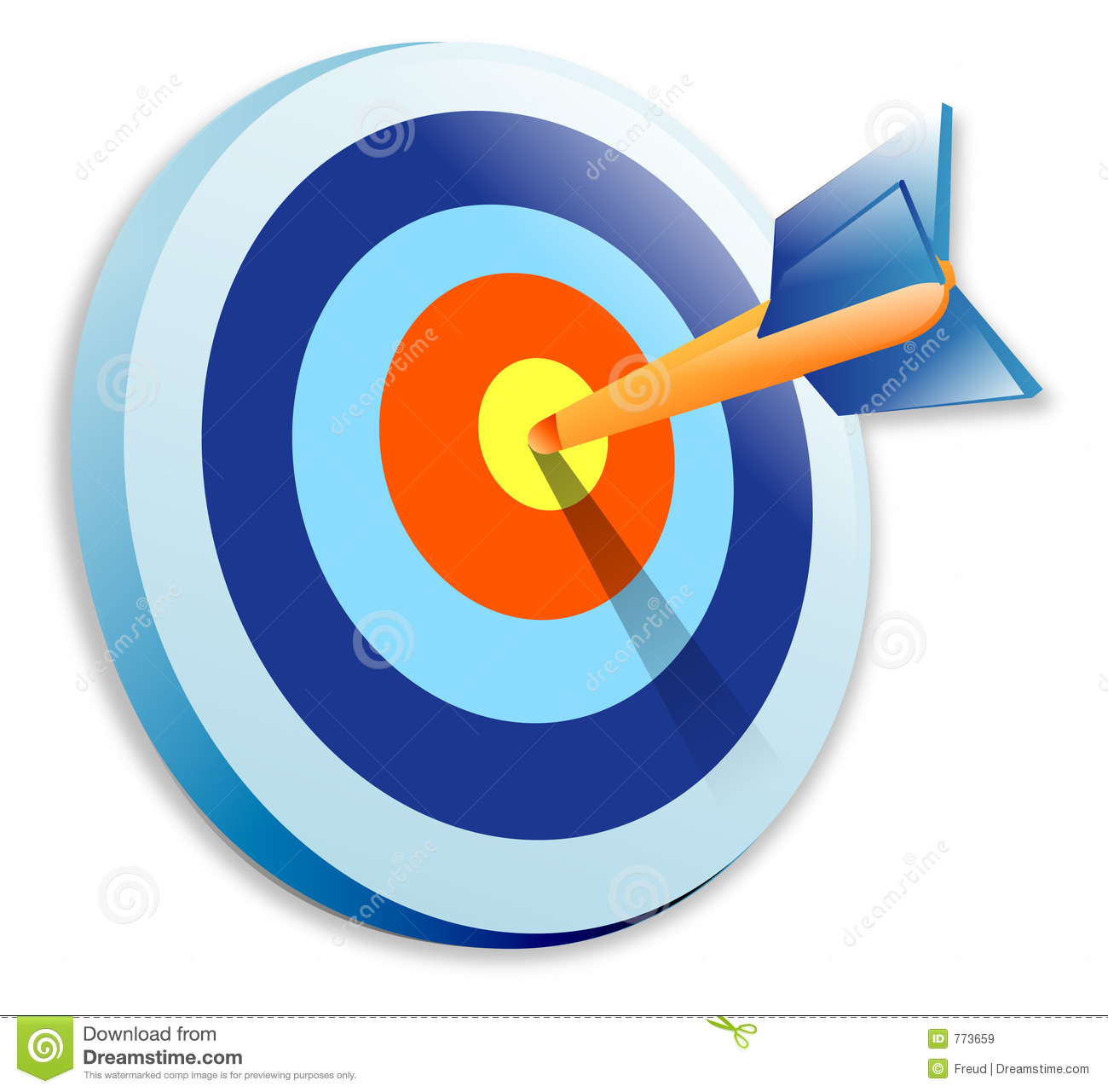 Bullseye Royalty Free Stock Images - Image: 773659