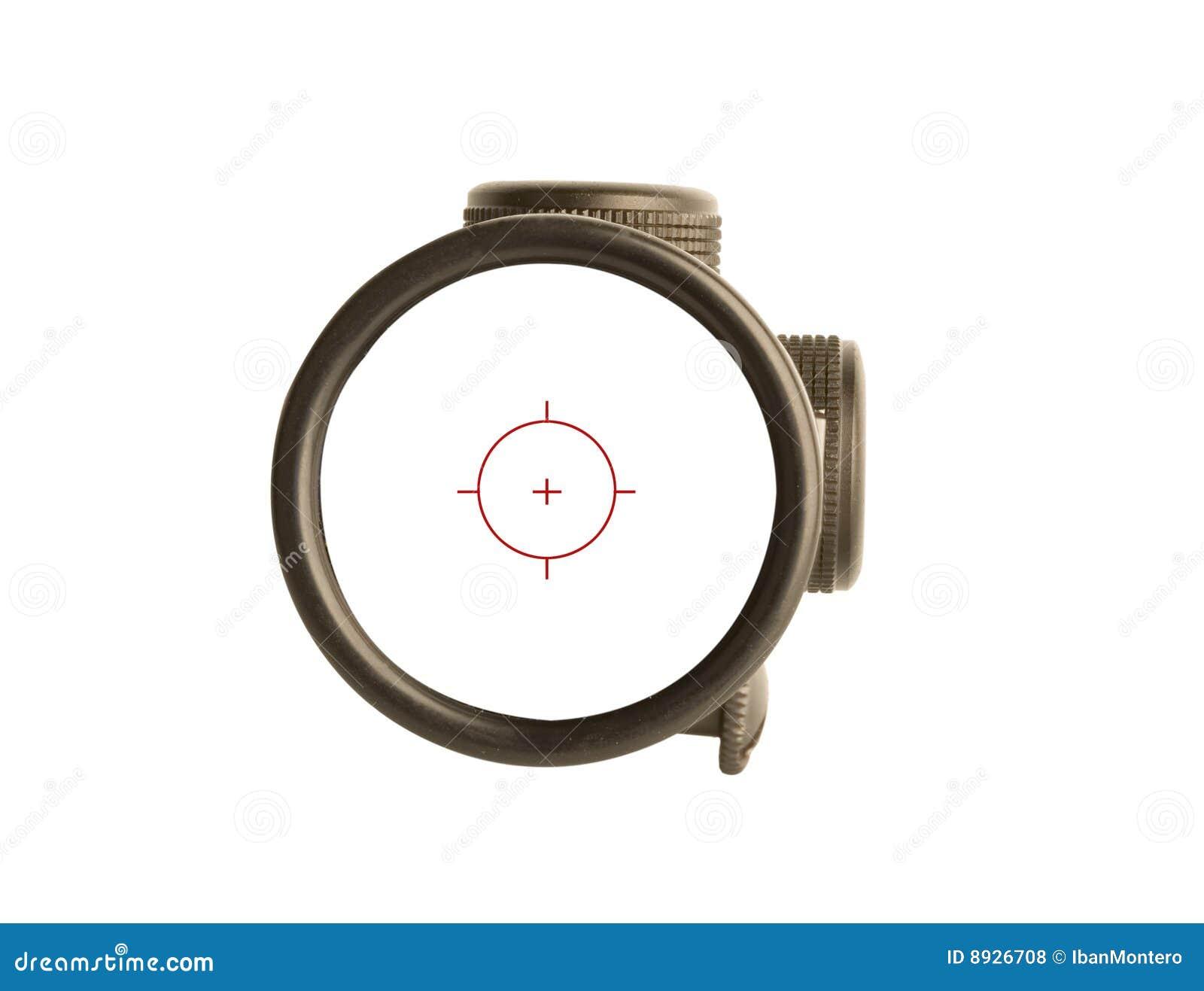 Bullseye di portata del fucile