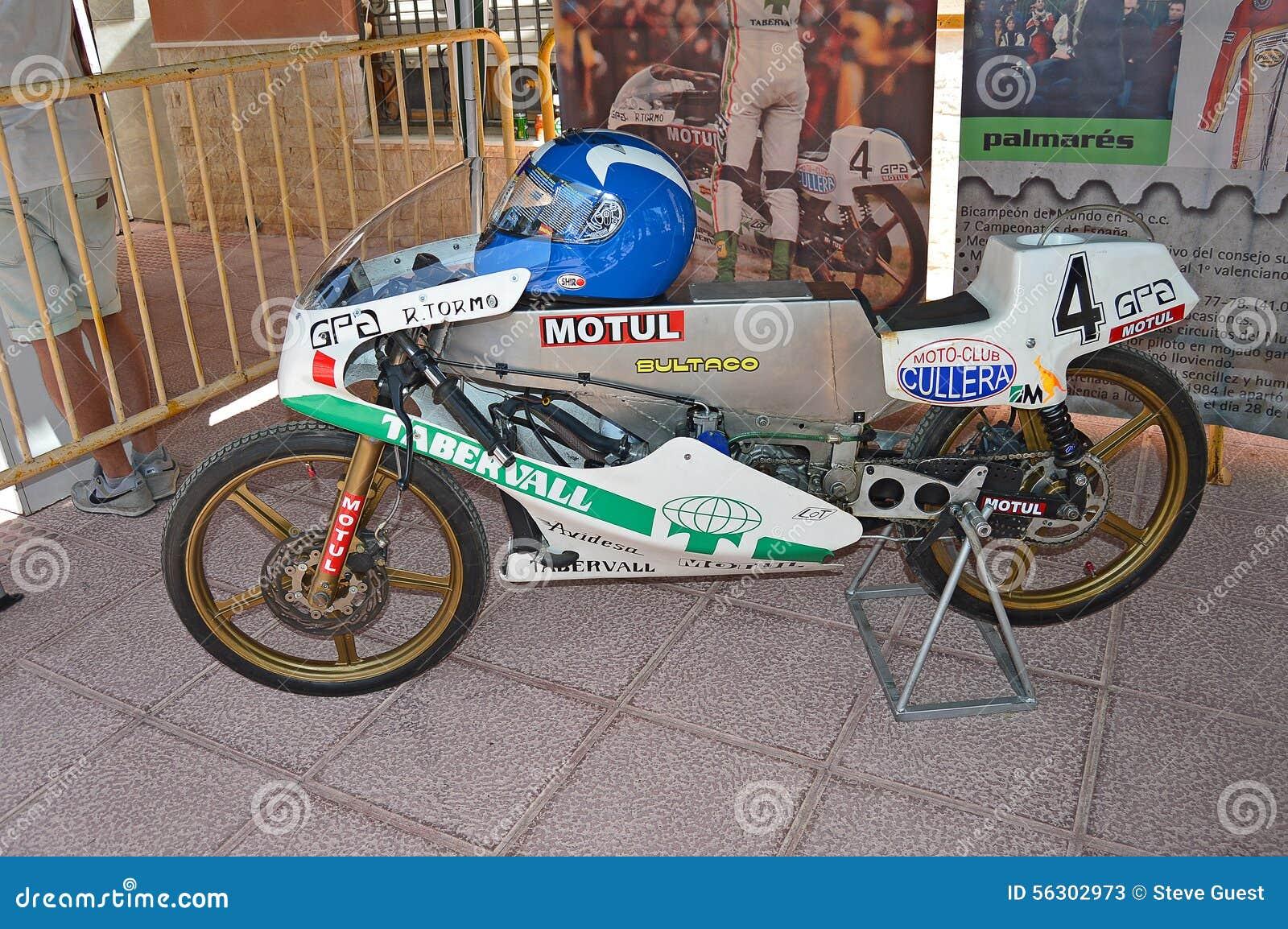 bultaco classic racing motorcycle