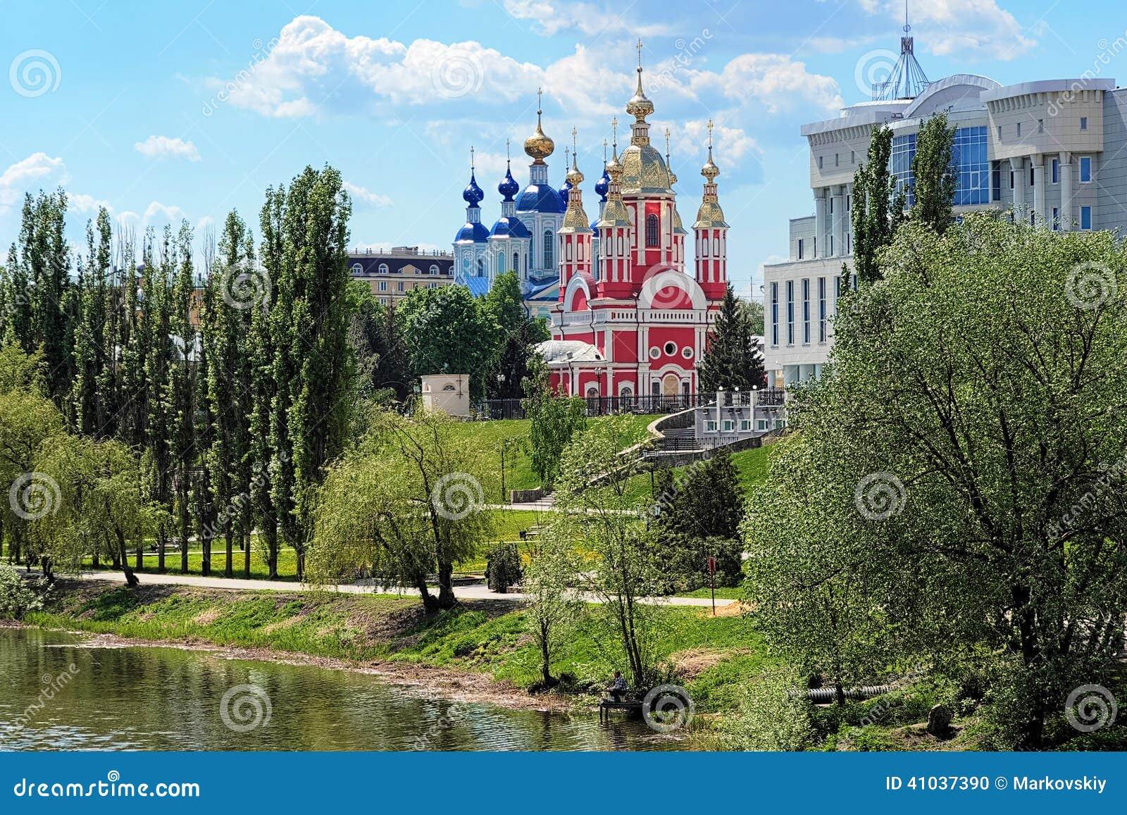 Bulwaru rzeczny Russia Tambov tsna