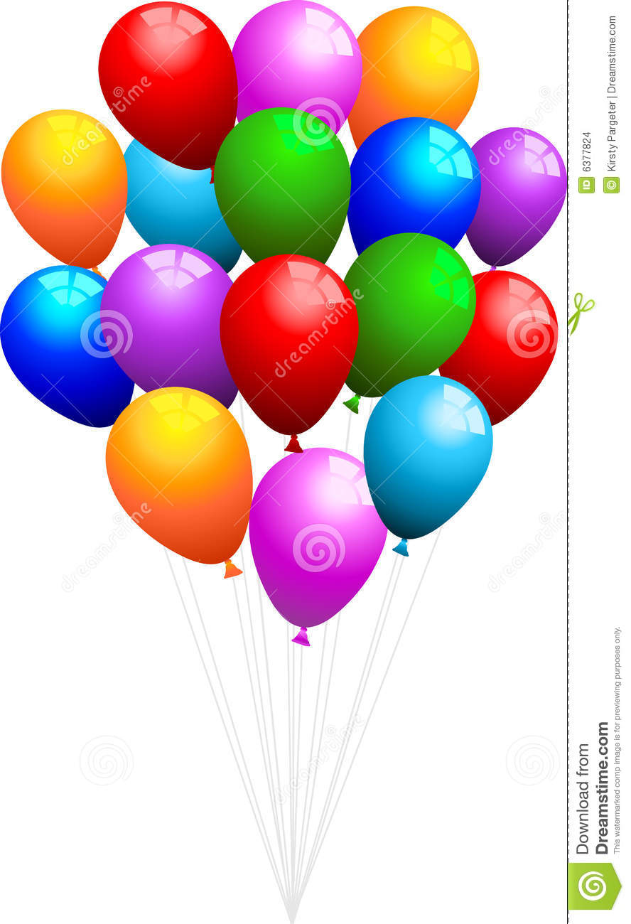 Bunch Of Balloons Stock Images - Image: 6377824