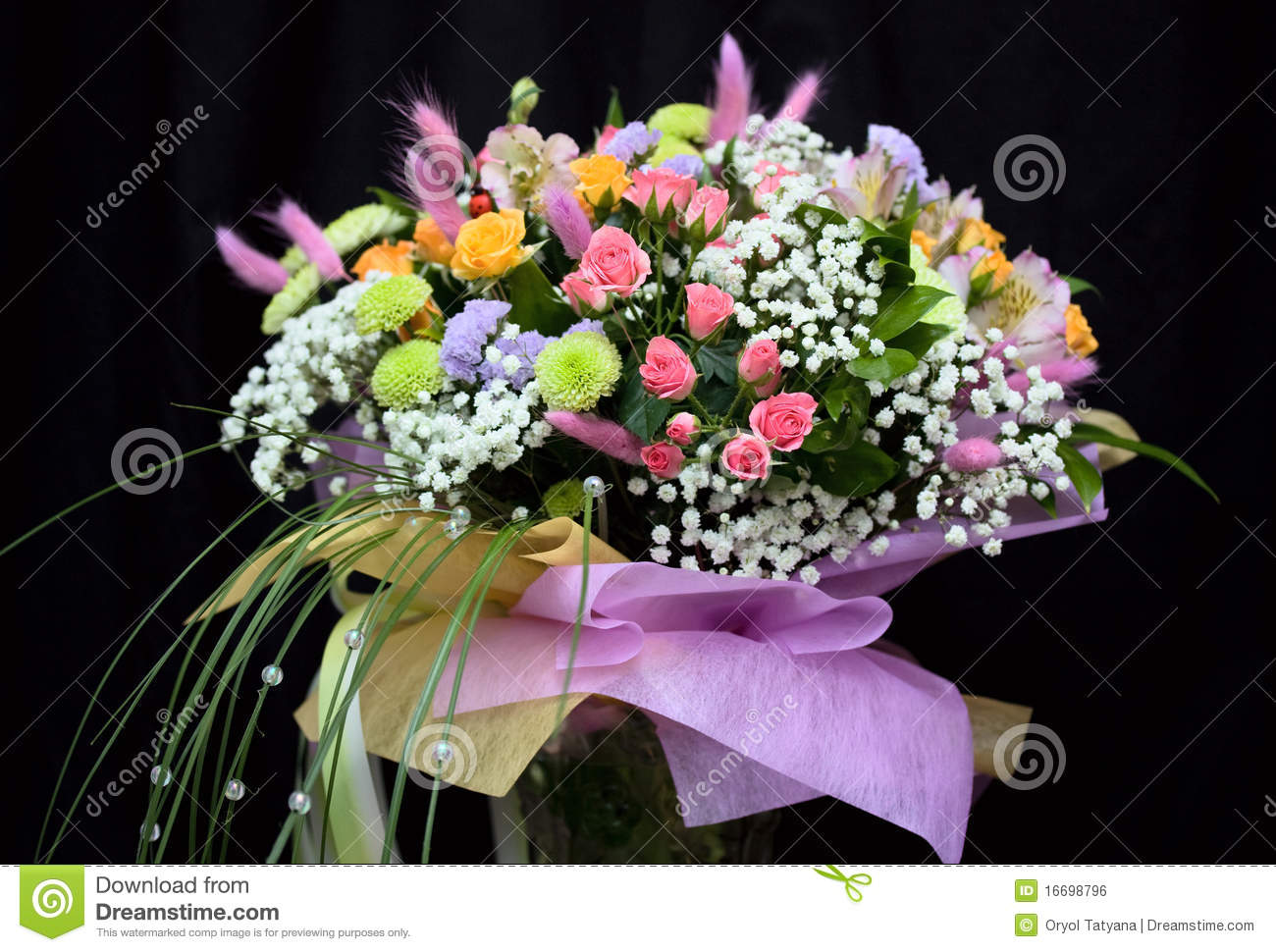 Bunch of beautiful flowers stock photo. Image of nature - 16698796