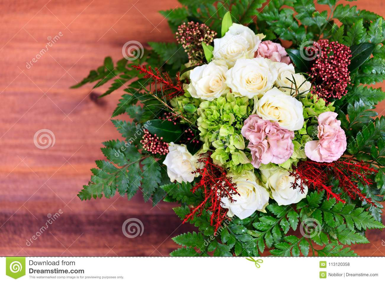 Bunch Of Beautiful Flowers Stock Photo Image Of Flower 113120358