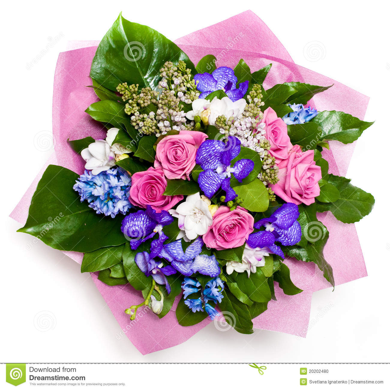 Bunch Of Flowers Stock Photo - Image: 20202480