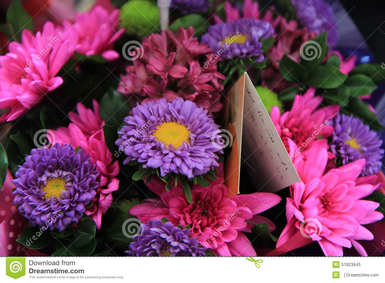A bunch of flowers stock photo image 51823645 array better bouquet bunch card day flowers get dhlflorist Images