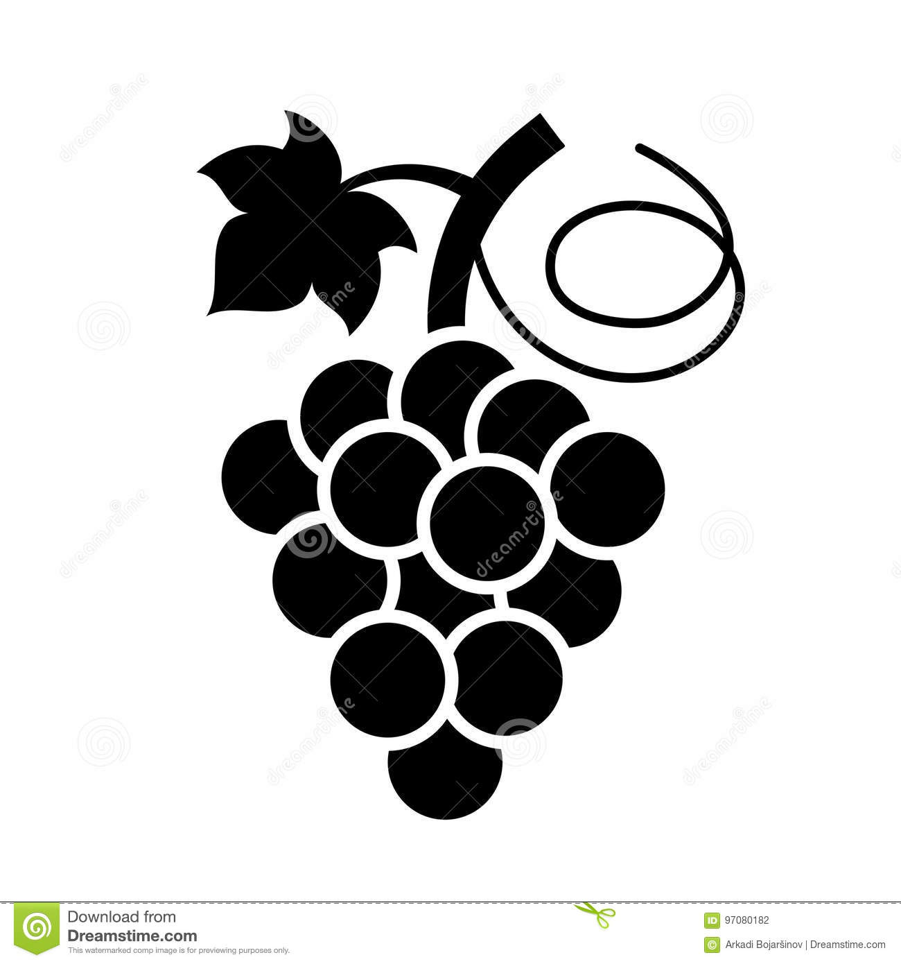Bunch Grapes Stock Illustrations – 6,150 Bunch Grapes Stock ...