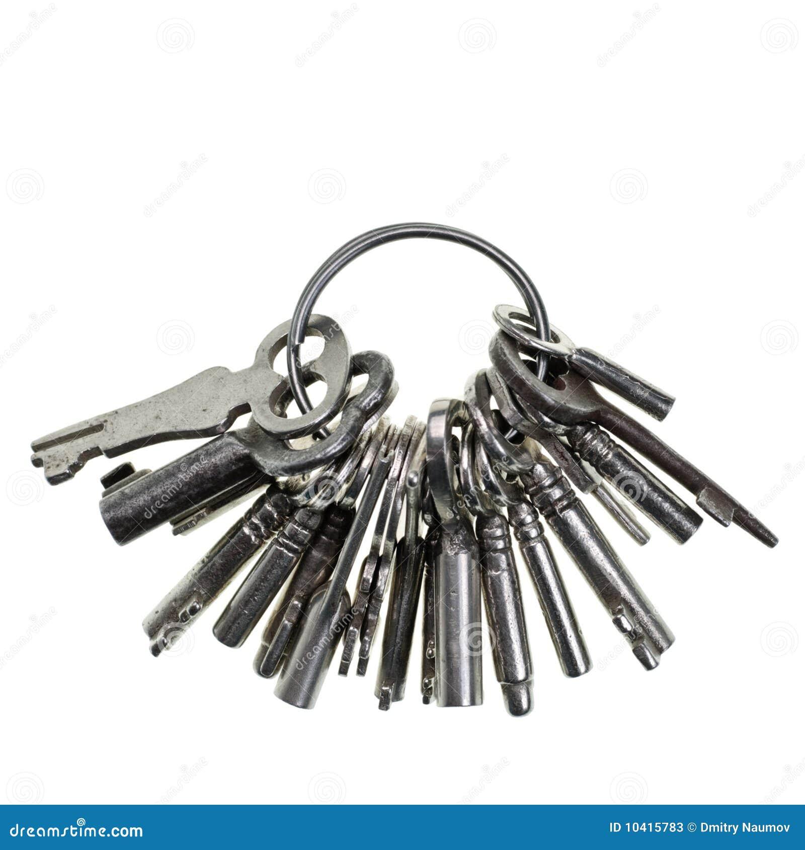 Bunch Of Keys Stock Image Image Of Ring Small Macro