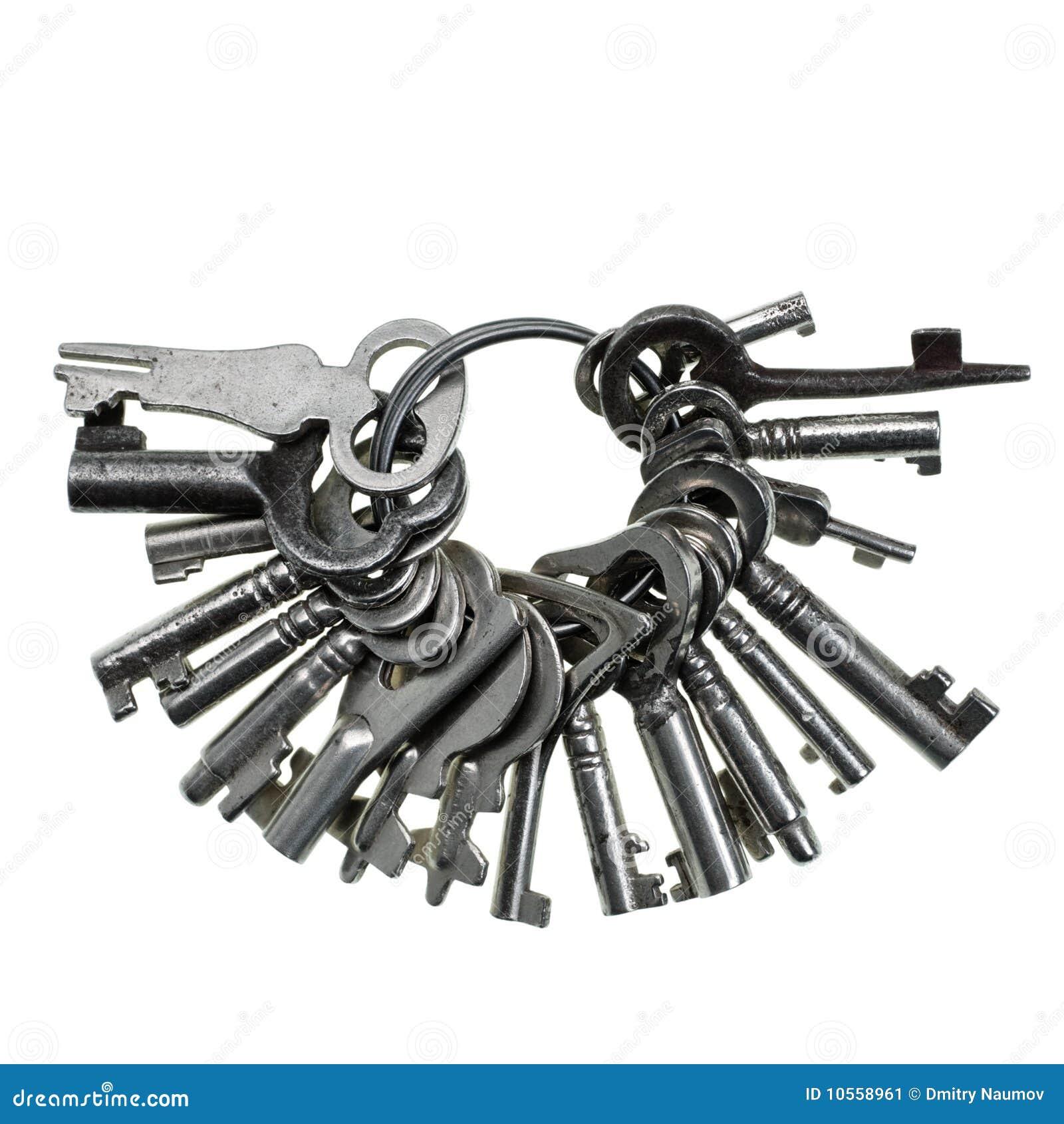 Bunch Of Keys Stock Image Image 10558961