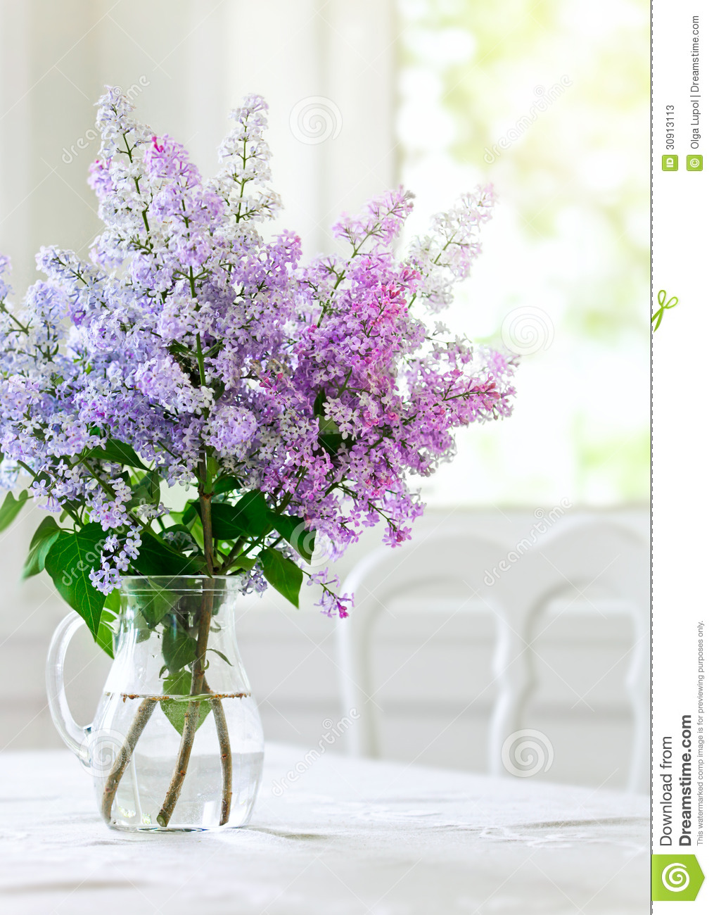 Bunch Lilac Table ...