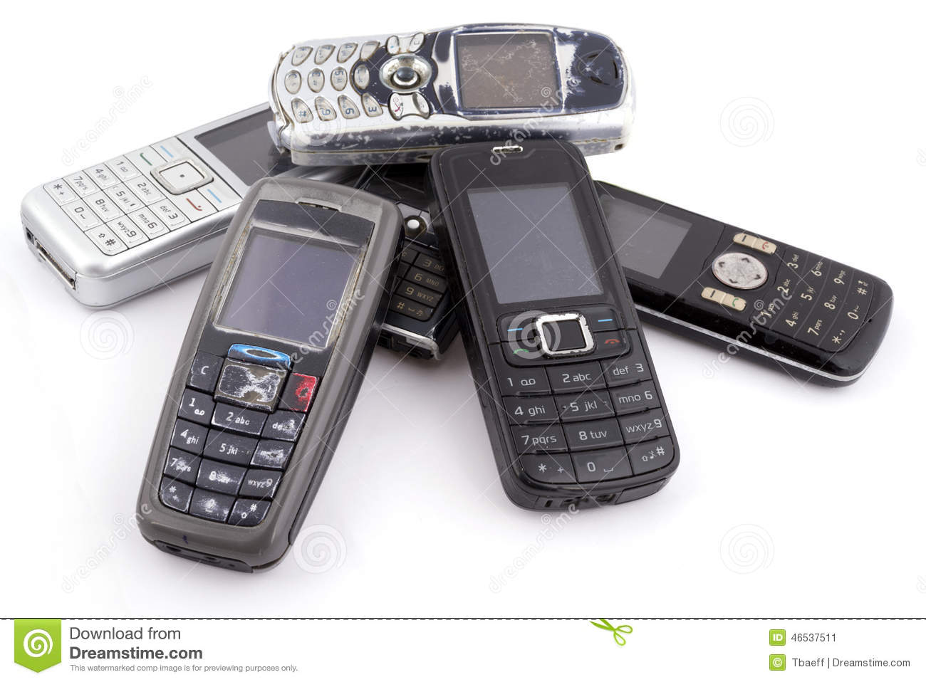 Old Mobile Phones 2 Royalty-Free Stock Photography ...