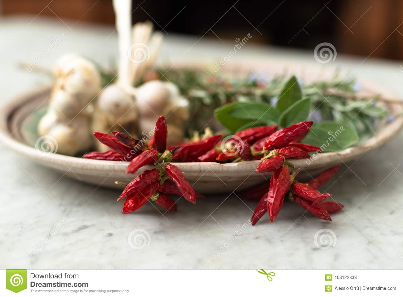 Red Peppers And Othe