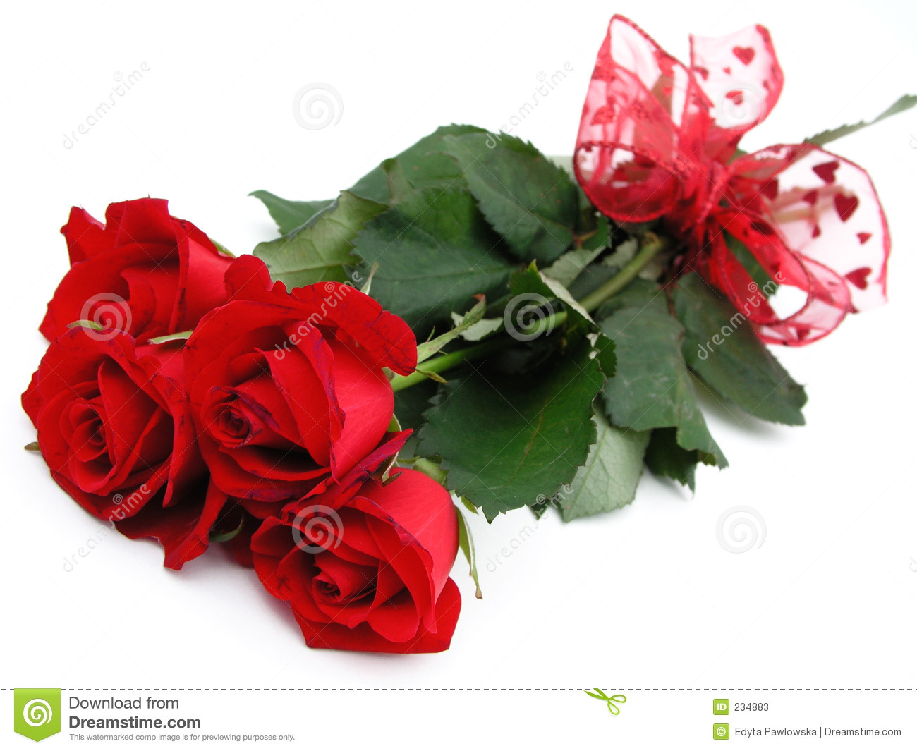 bunch-red-roses-234883