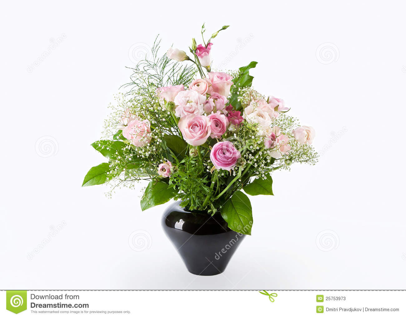 Bunch Of Rose Flowers Stock Photos - Image: 25753973