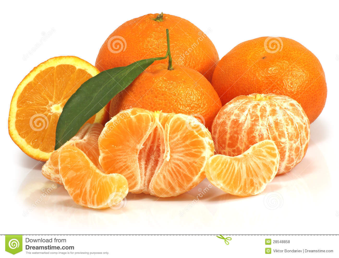 bunch of tangerines stock photo. image of calories, nature - 28548858