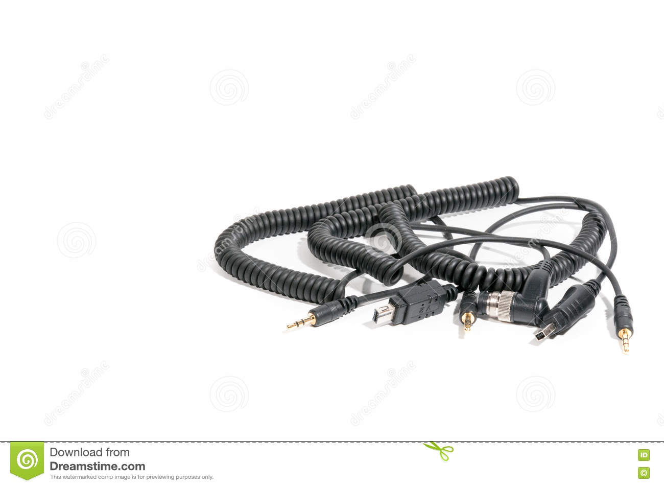 a bunch of utp cables stock photo