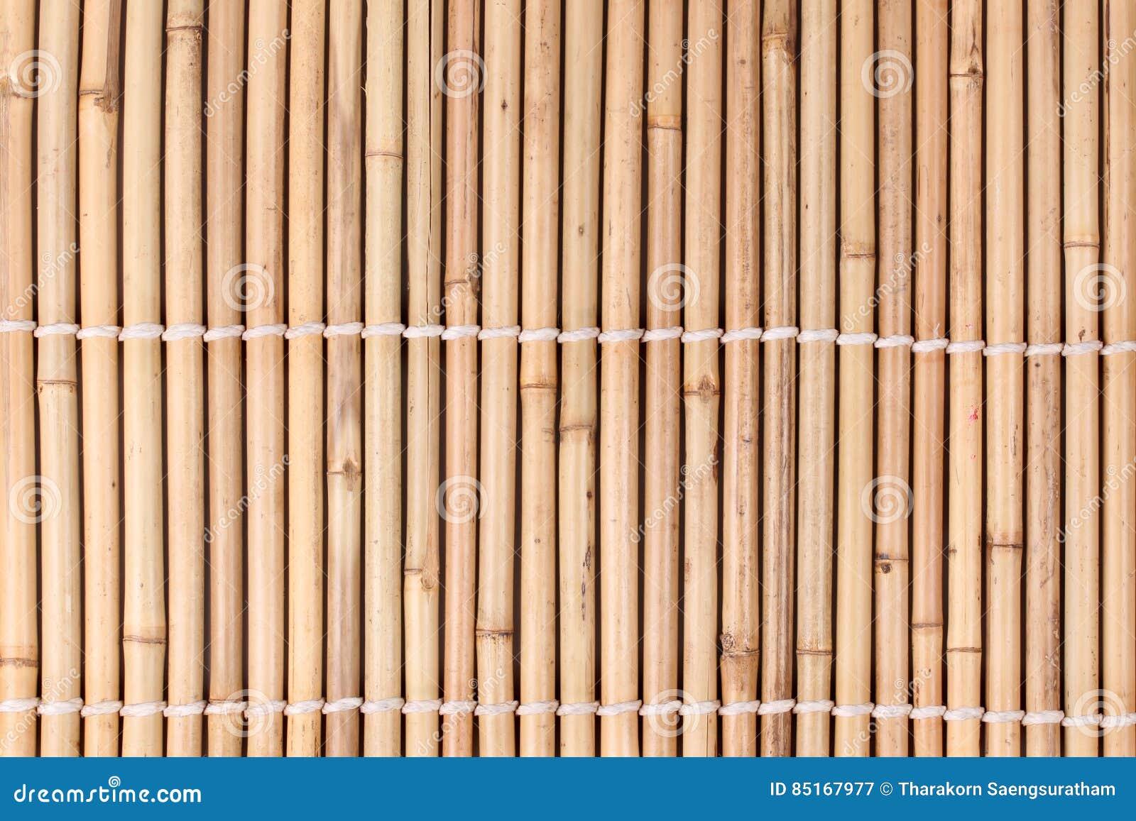 Bundet av torkad bambustjälkmodell i japansk stil