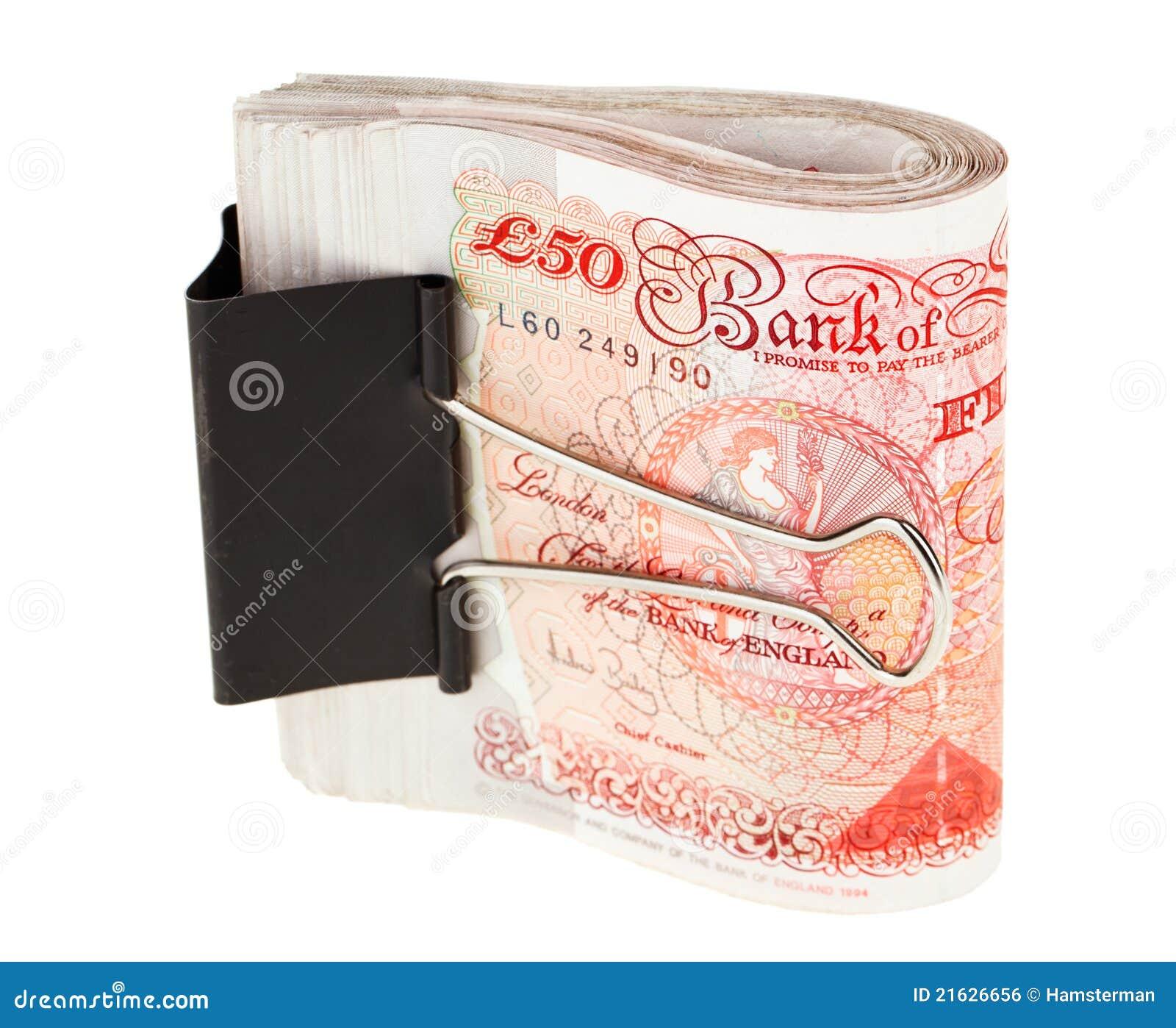 M Clamp Money Clip Bundle Of 50 Pound Ste...