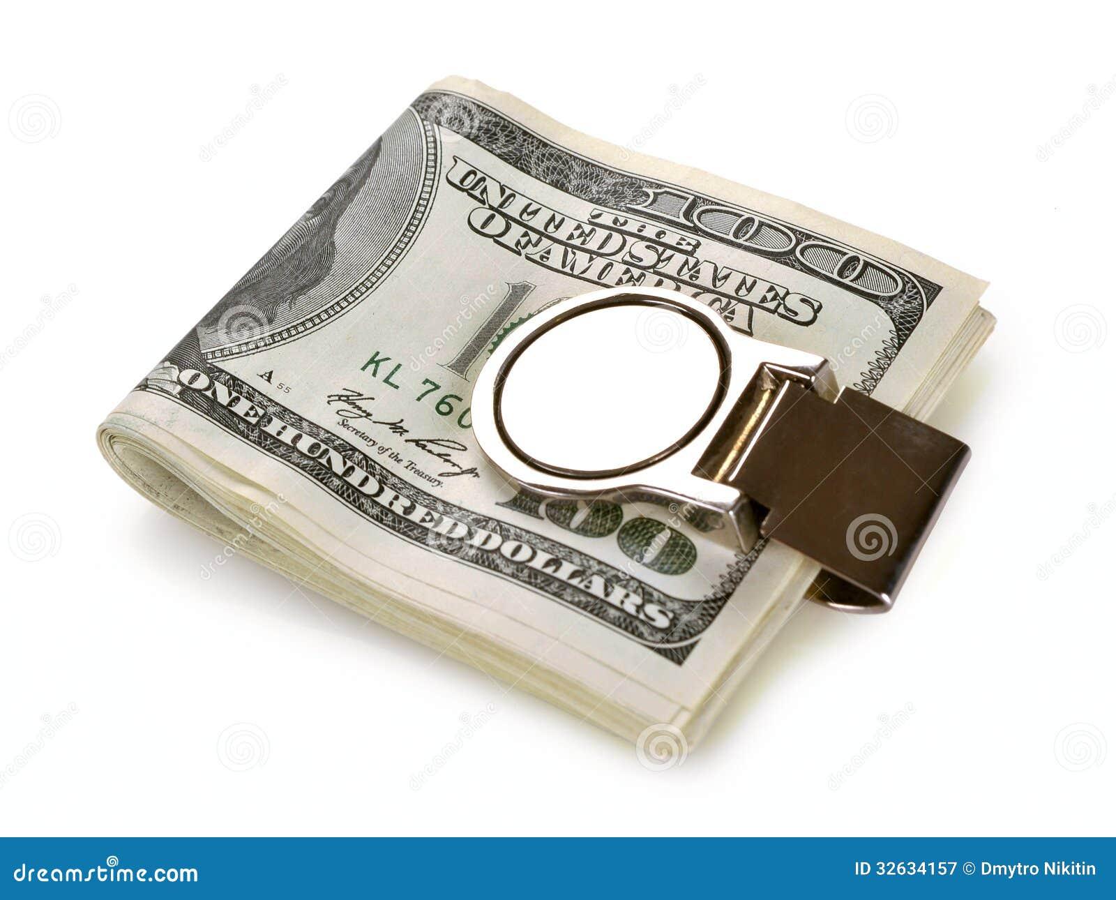 M Clamp Money Clip Bundle Of 100 Dollars ...