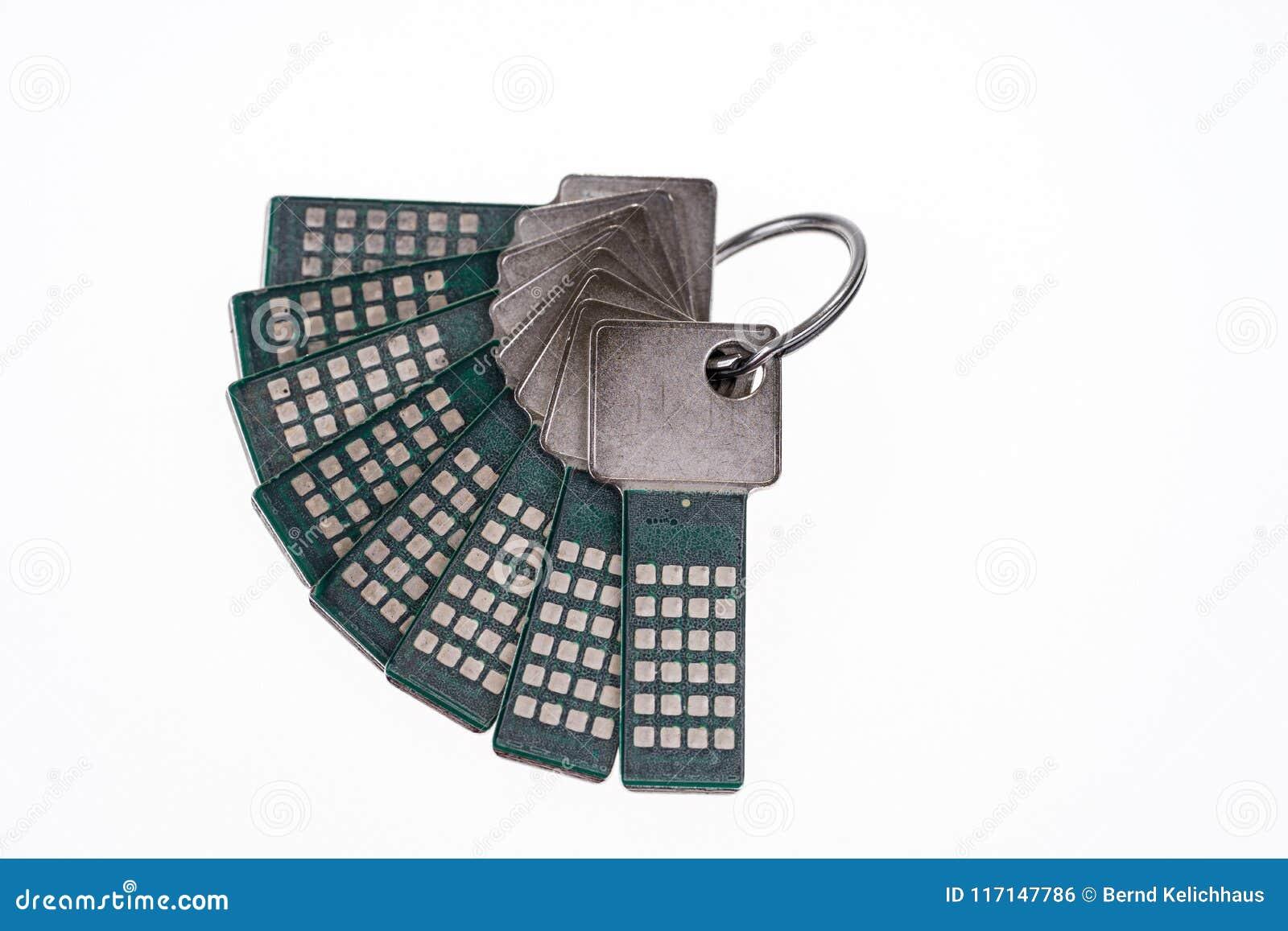 Bundle with security keys