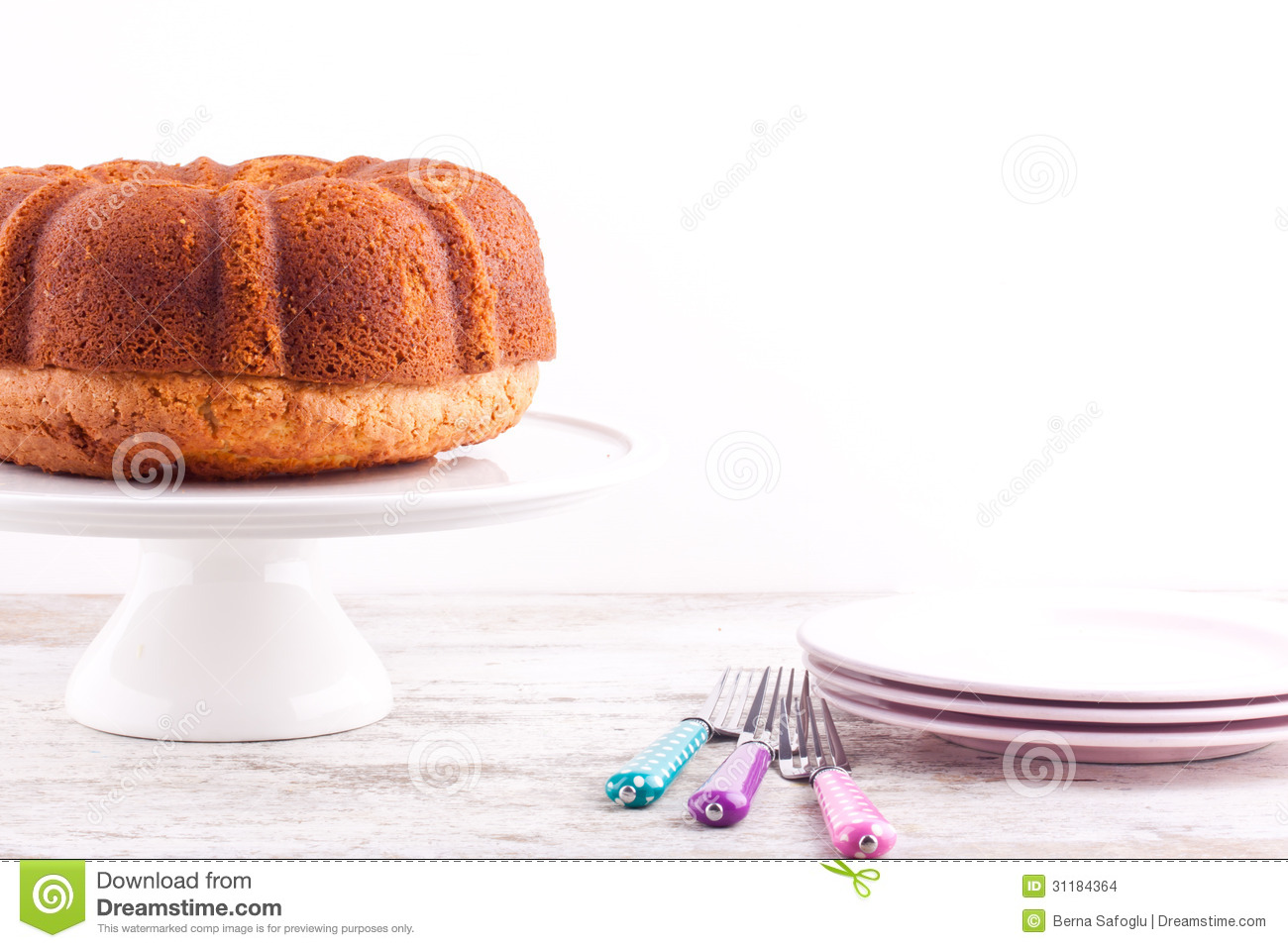Pound Cake With Less Sugar