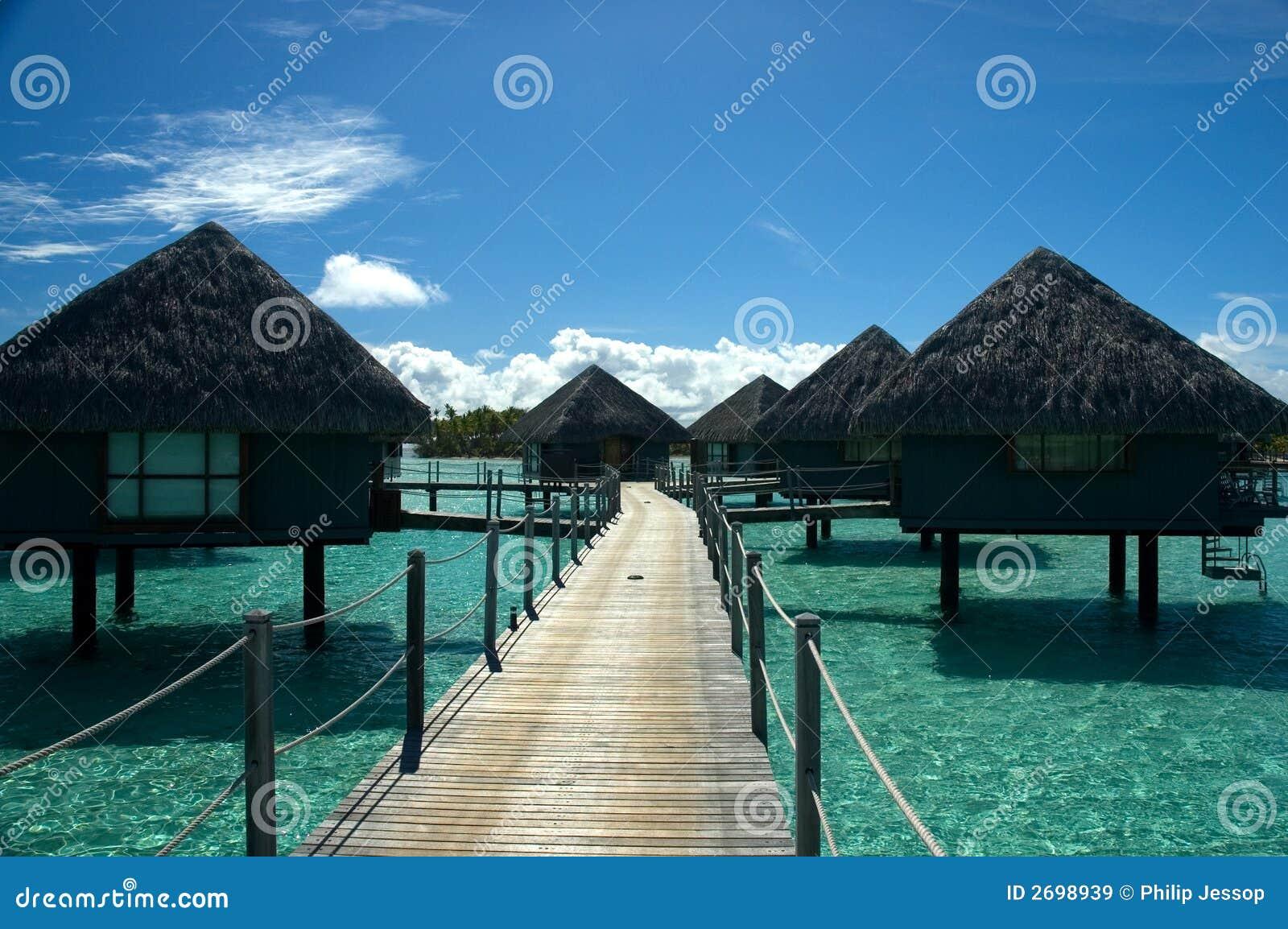 Bungalow de Overwater em Tahiti