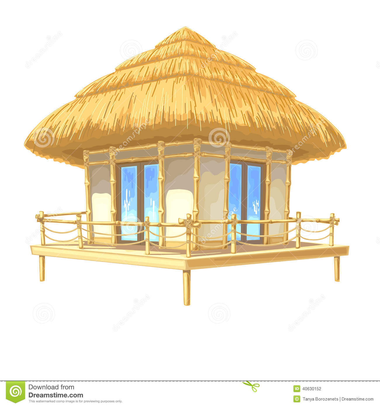 Bungalow Stock Photo