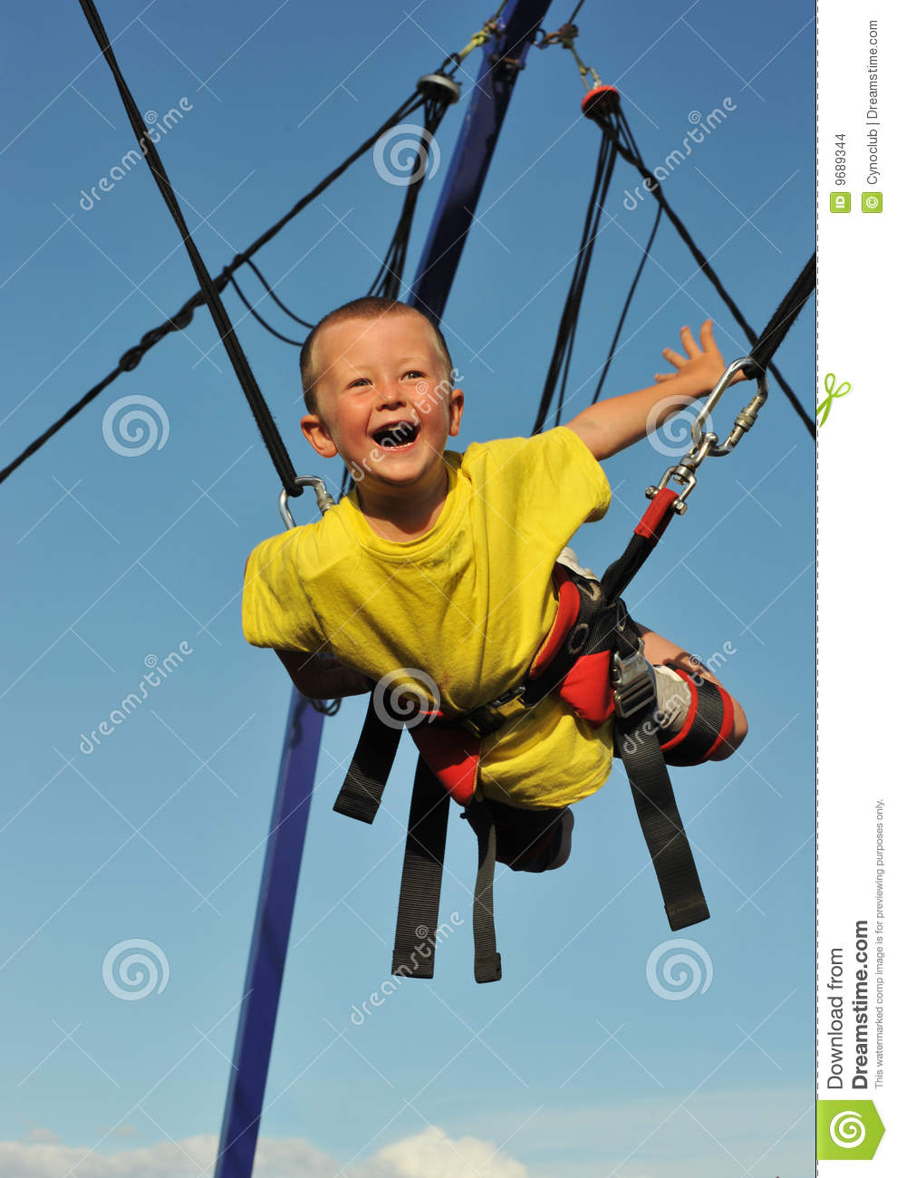 46f3b8a40264 Bungee jumping stock photo. Image of activity
