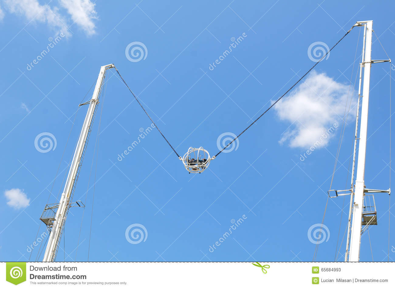 bungee jumping editorial stock photo. image of high, laughter - 65684993