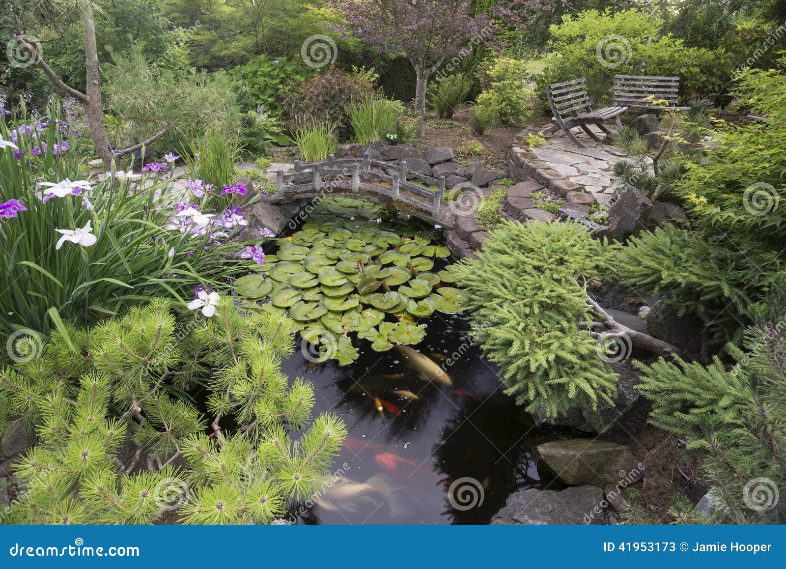 Bunk ogrodniczego staw