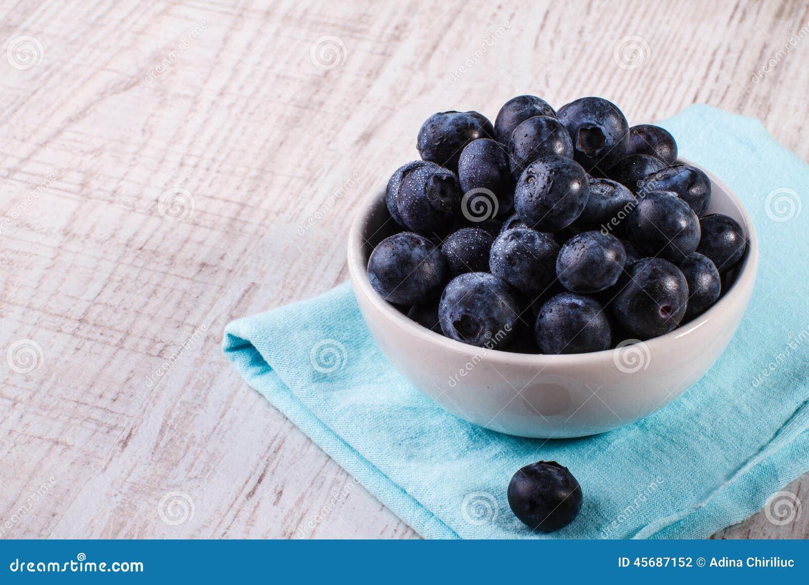 Bunke av blåbär
