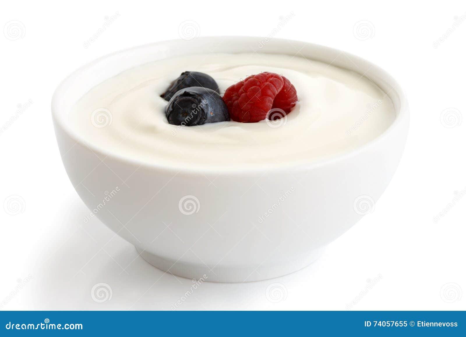 Bunke av yoghurt