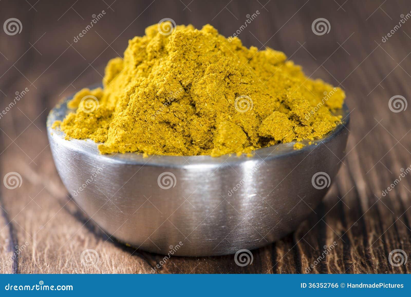 Bunke med curry