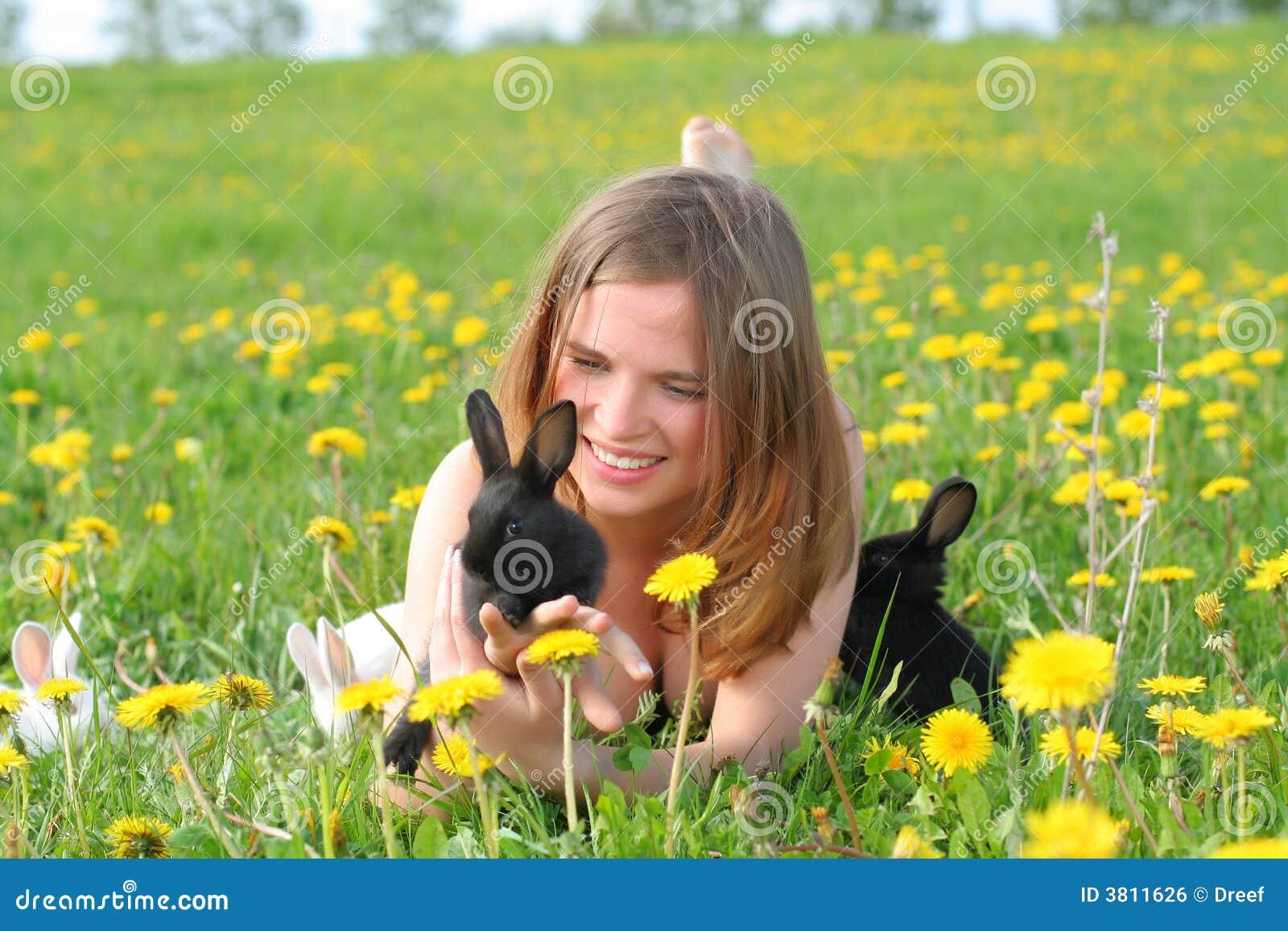 Bunnies κορίτσι