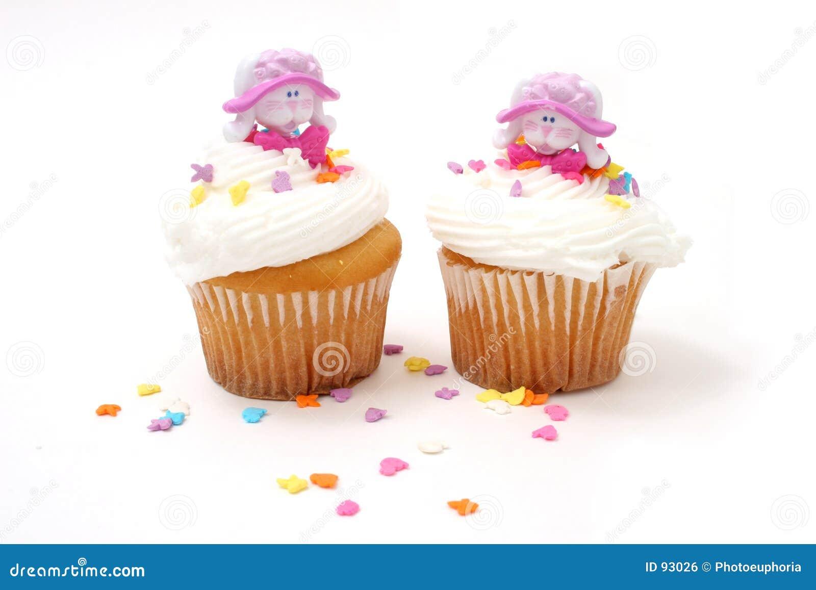 Bunnies cupcakes Πάσχα