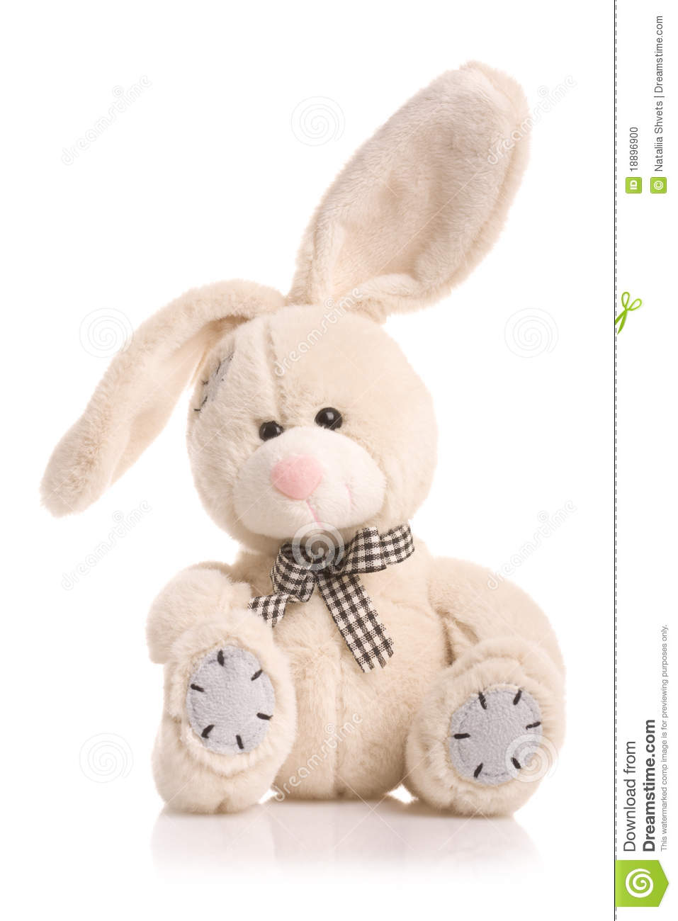 Toys For Bunnies : Bunny rabbit cuddly toy stock photo image of hare alone