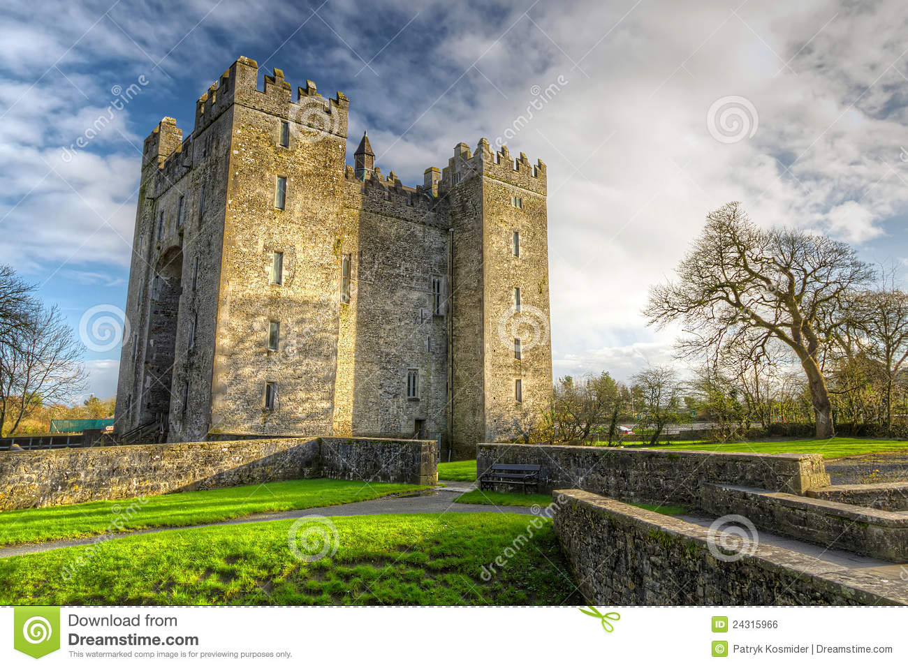 Bunratty grodowy Clare co