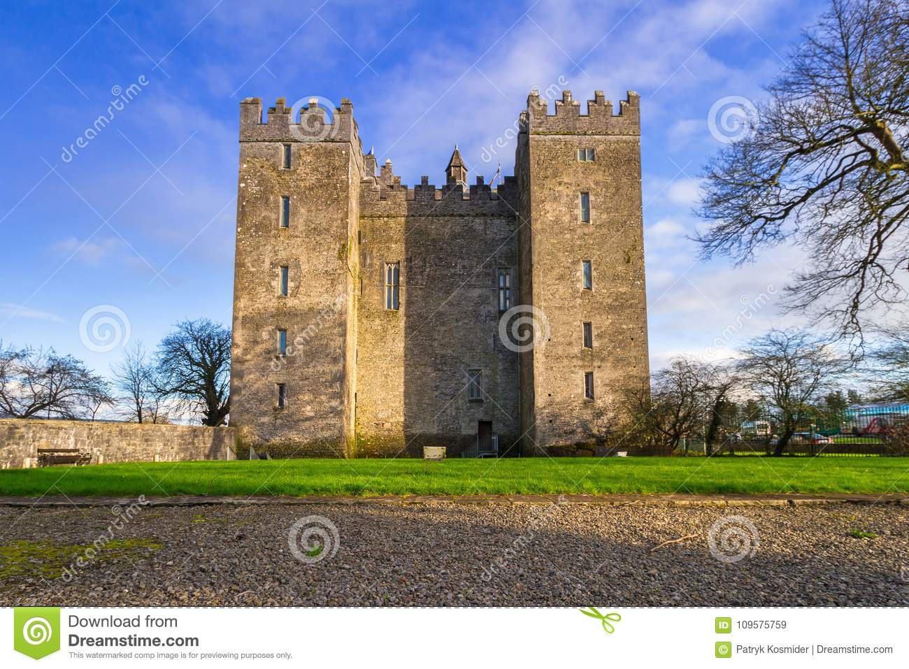 Bunratty grodowy Clare co Ireland clare