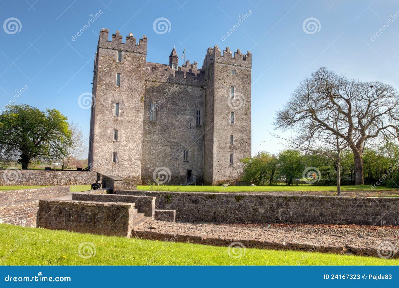 Bunratty grodowy Clare co Ireland