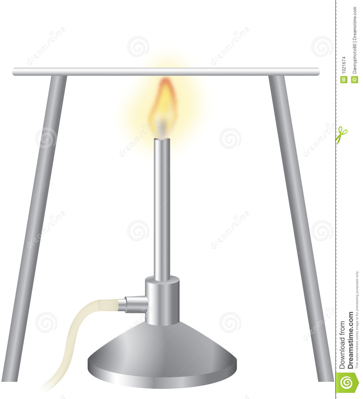 Bunsen burner 1 stock illustration illustration of equipment bunsen burner 1 pooptronica Choice Image