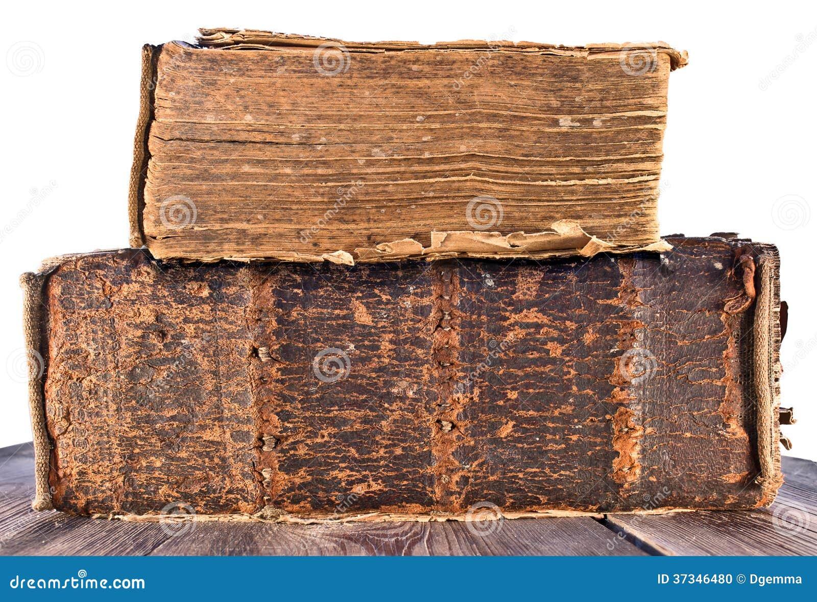 Bunt av gamla böcker
