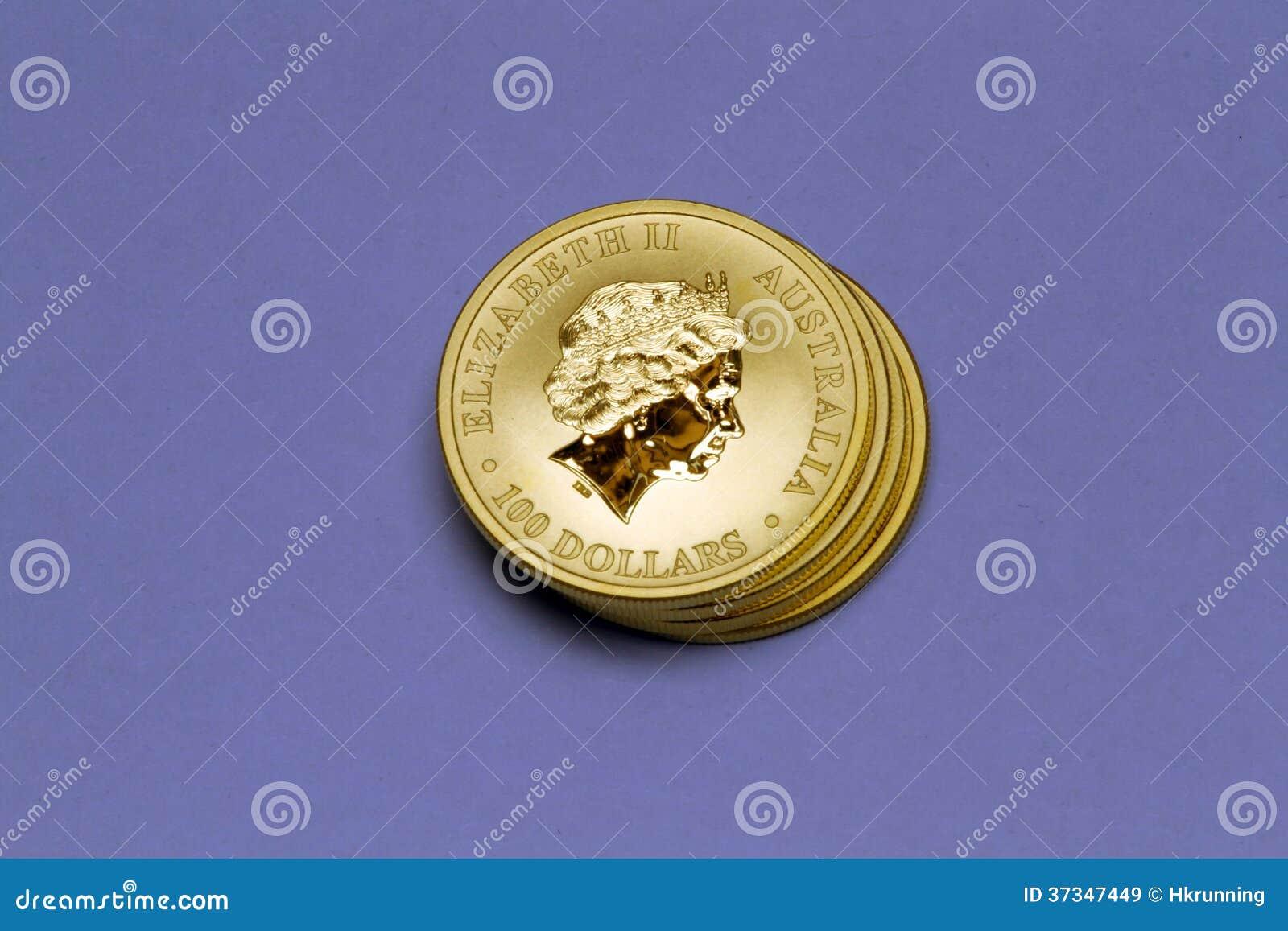 Bunt av guld- mynt