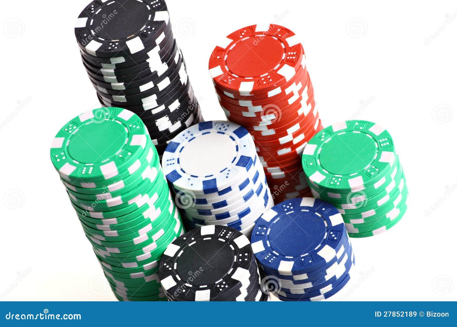 Bunt av pokerchiper